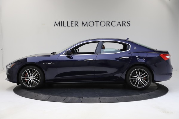 Used 2018 Maserati Ghibli S Q4 for sale $53,900 at Pagani of Greenwich in Greenwich CT 06830 3