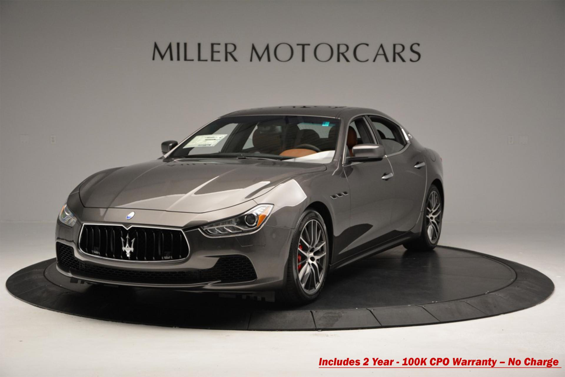 Used 2016 Maserati Ghibli S Q4 for sale Sold at Pagani of Greenwich in Greenwich CT 06830 1