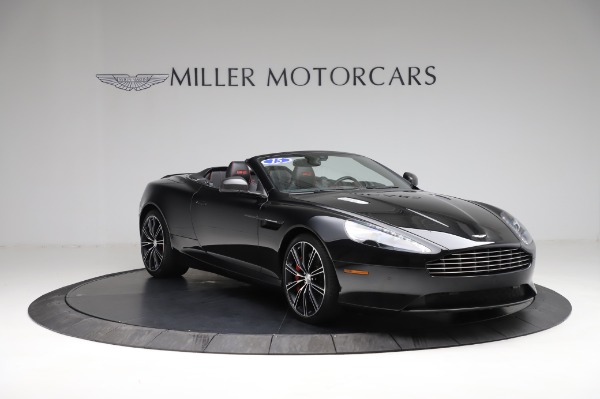 Used 2015 Aston Martin DB9 Convertible for sale Sold at Pagani of Greenwich in Greenwich CT 06830 10