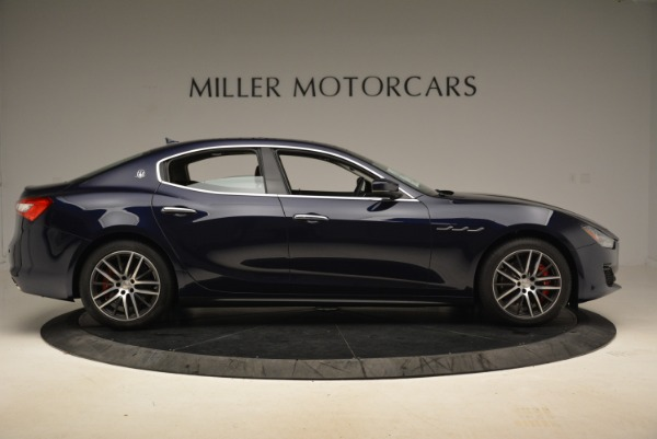 New 2018 Maserati Ghibli S Q4 for sale Sold at Pagani of Greenwich in Greenwich CT 06830 9