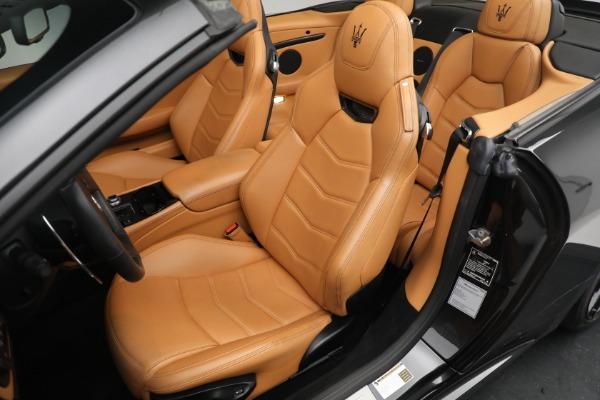 New 2018 Maserati GranTurismo MC Convertible for sale Sold at Pagani of Greenwich in Greenwich CT 06830 21