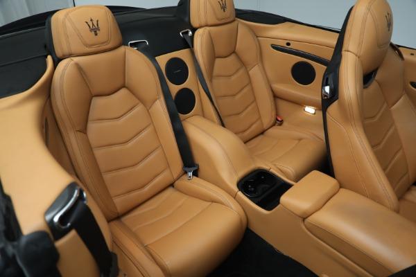 New 2018 Maserati GranTurismo MC Convertible for sale Sold at Pagani of Greenwich in Greenwich CT 06830 26
