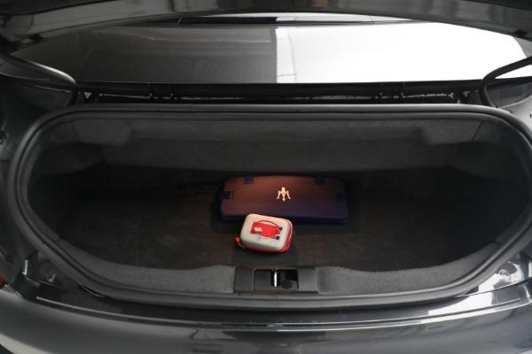 New 2018 Maserati GranTurismo MC Convertible for sale Sold at Pagani of Greenwich in Greenwich CT 06830 28