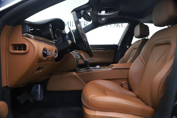 Used 2018 Maserati Quattroporte S Q4 GranLusso for sale $65,900 at Pagani of Greenwich in Greenwich CT 06830 15
