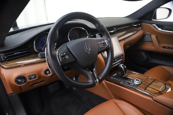 Used 2018 Maserati Quattroporte S Q4 GranLusso for sale $65,900 at Pagani of Greenwich in Greenwich CT 06830 16