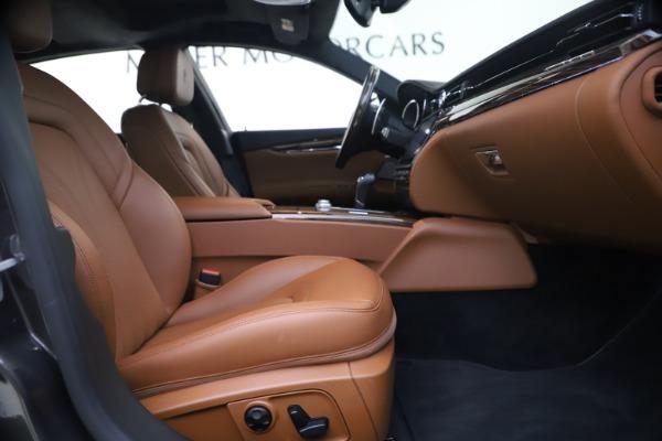 Used 2018 Maserati Quattroporte S Q4 GranLusso for sale $65,900 at Pagani of Greenwich in Greenwich CT 06830 22