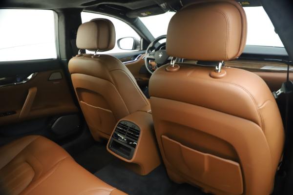 Used 2018 Maserati Quattroporte S Q4 GranLusso for sale $65,900 at Pagani of Greenwich in Greenwich CT 06830 26