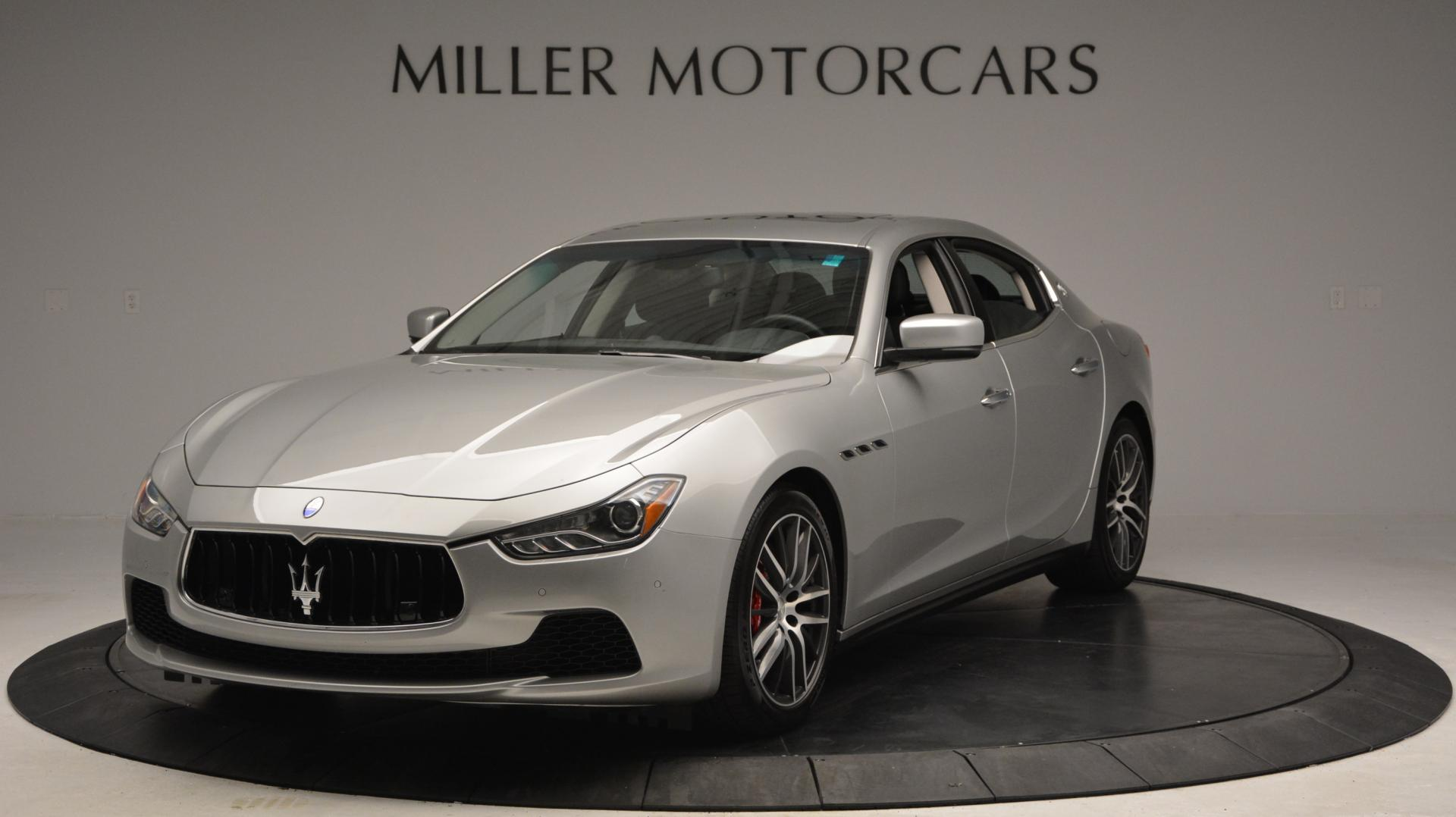 New 2016 Maserati Ghibli S Q4 for sale Sold at Pagani of Greenwich in Greenwich CT 06830 1