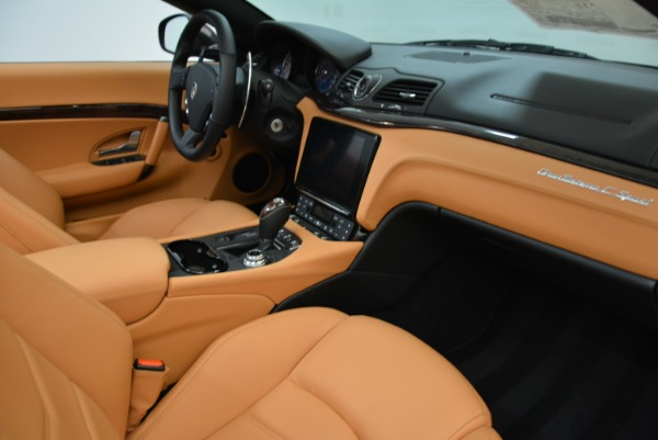 New 2018 Maserati GranTurismo Sport Convertible for sale Sold at Pagani of Greenwich in Greenwich CT 06830 27