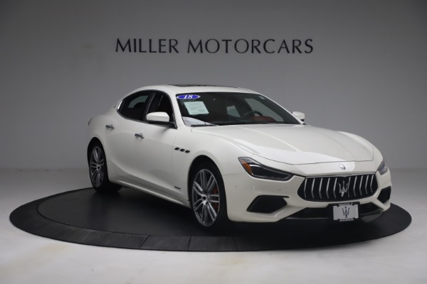 Used 2018 Maserati Ghibli S Q4 GranSport for sale Call for price at Pagani of Greenwich in Greenwich CT 06830 11