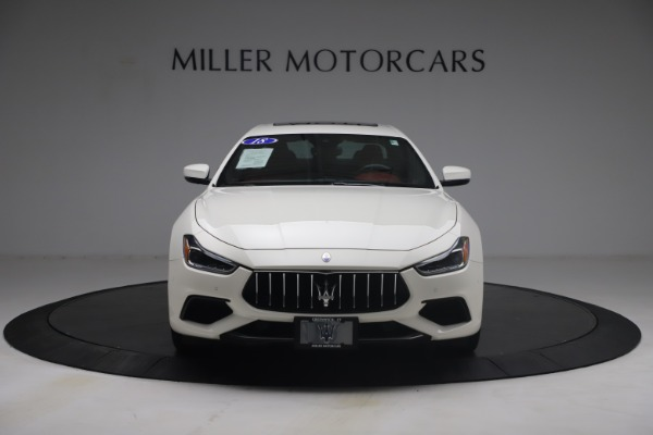 Used 2018 Maserati Ghibli S Q4 GranSport for sale Call for price at Pagani of Greenwich in Greenwich CT 06830 12