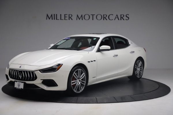 Used 2018 Maserati Ghibli S Q4 GranSport for sale Call for price at Pagani of Greenwich in Greenwich CT 06830 2