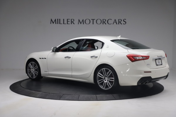 Used 2018 Maserati Ghibli S Q4 GranSport for sale Call for price at Pagani of Greenwich in Greenwich CT 06830 4