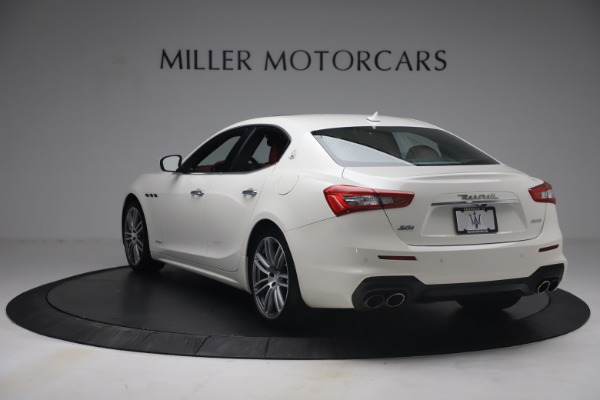 Used 2018 Maserati Ghibli S Q4 GranSport for sale Call for price at Pagani of Greenwich in Greenwich CT 06830 5