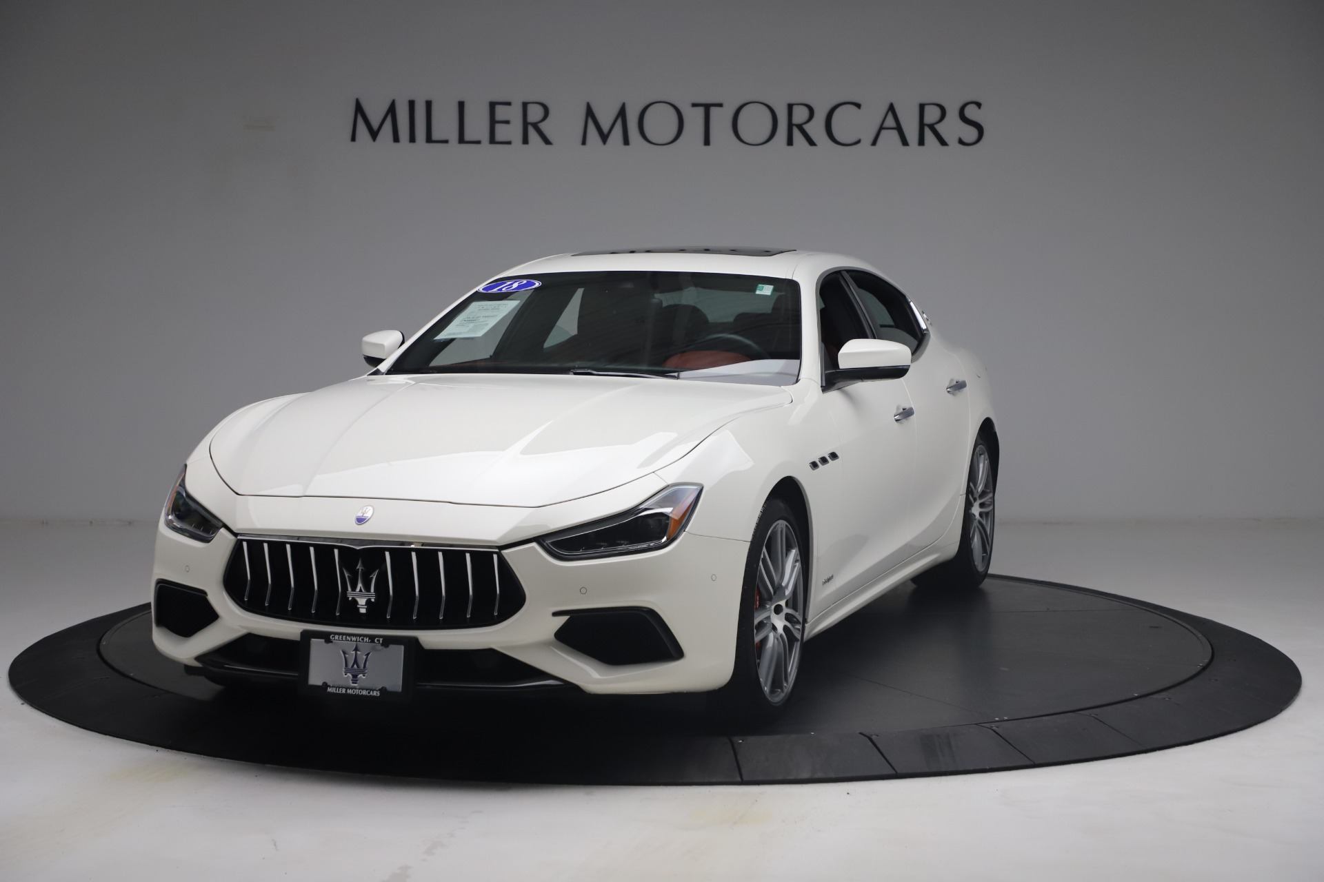 Used 2018 Maserati Ghibli S Q4 GranSport for sale Call for price at Pagani of Greenwich in Greenwich CT 06830 1