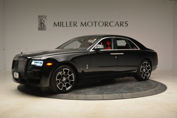Used 2017 Rolls-Royce Ghost Black Badge for sale Sold at Pagani of Greenwich in Greenwich CT 06830 2