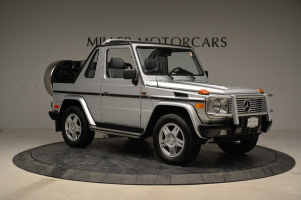 Used 1999 Mercedes Benz G500 Cabriolet for sale Sold at Pagani of Greenwich in Greenwich CT 06830 10
