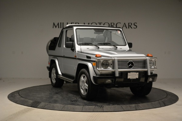Used 1999 Mercedes Benz G500 Cabriolet for sale Sold at Pagani of Greenwich in Greenwich CT 06830 11