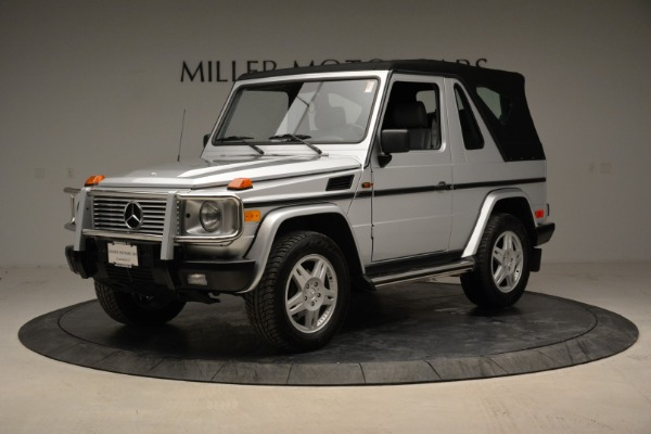 Used 1999 Mercedes Benz G500 Cabriolet for sale Sold at Pagani of Greenwich in Greenwich CT 06830 13