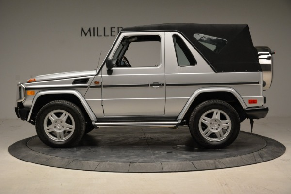 Used 1999 Mercedes Benz G500 Cabriolet for sale Sold at Pagani of Greenwich in Greenwich CT 06830 14