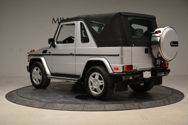 Used 1999 Mercedes Benz G500 Cabriolet for sale Sold at Pagani of Greenwich in Greenwich CT 06830 15