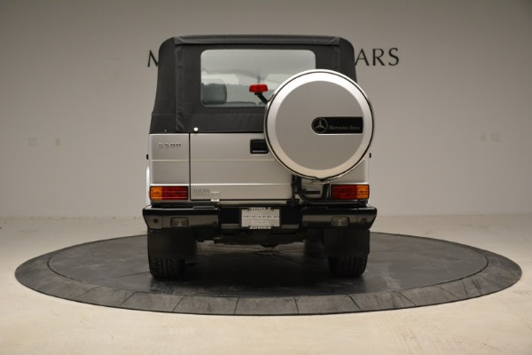 Used 1999 Mercedes Benz G500 Cabriolet for sale Sold at Pagani of Greenwich in Greenwich CT 06830 16
