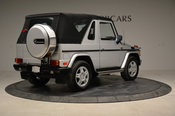 Used 1999 Mercedes Benz G500 Cabriolet for sale Sold at Pagani of Greenwich in Greenwich CT 06830 17