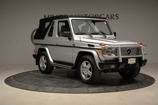 Used 1999 Mercedes Benz G500 Cabriolet for sale Sold at Pagani of Greenwich in Greenwich CT 06830 19