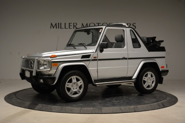 Used 1999 Mercedes Benz G500 Cabriolet for sale Sold at Pagani of Greenwich in Greenwich CT 06830 2