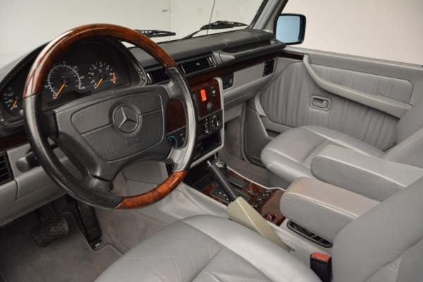 Used 1999 Mercedes Benz G500 Cabriolet for sale Sold at Pagani of Greenwich in Greenwich CT 06830 22