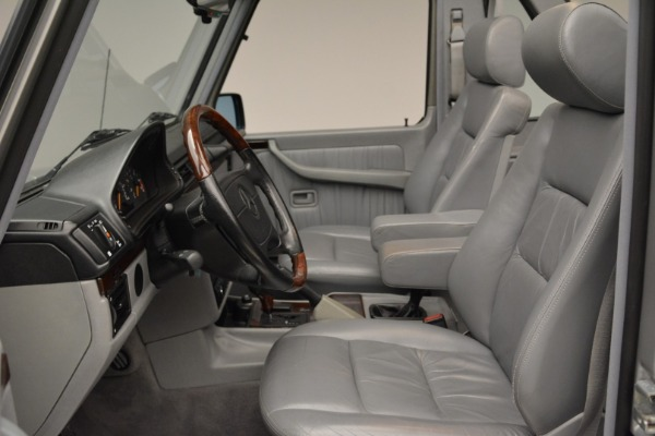 Used 1999 Mercedes Benz G500 Cabriolet for sale Sold at Pagani of Greenwich in Greenwich CT 06830 23
