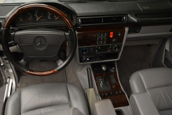 Used 1999 Mercedes Benz G500 Cabriolet for sale Sold at Pagani of Greenwich in Greenwich CT 06830 25