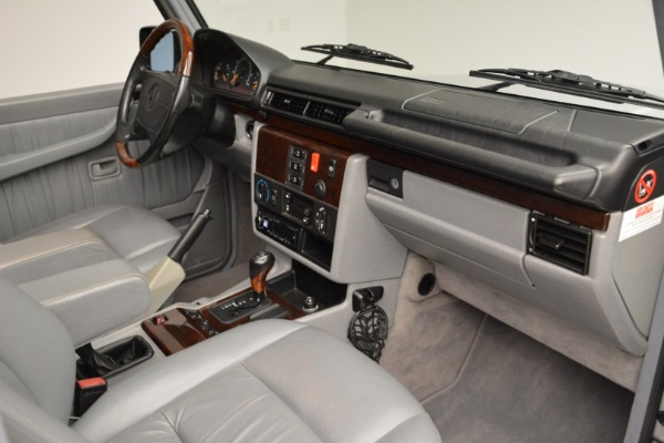 Used 1999 Mercedes Benz G500 Cabriolet for sale Sold at Pagani of Greenwich in Greenwich CT 06830 26