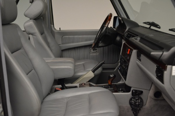 Used 1999 Mercedes Benz G500 Cabriolet for sale Sold at Pagani of Greenwich in Greenwich CT 06830 27
