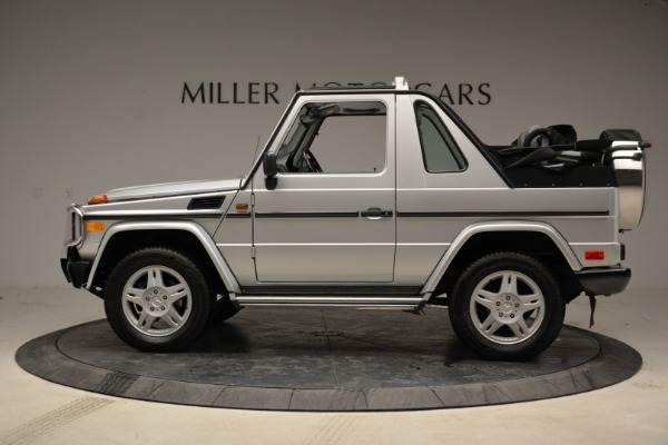 Used 1999 Mercedes Benz G500 Cabriolet for sale Sold at Pagani of Greenwich in Greenwich CT 06830 3