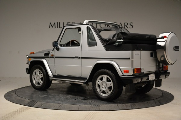 Used 1999 Mercedes Benz G500 Cabriolet for sale Sold at Pagani of Greenwich in Greenwich CT 06830 4