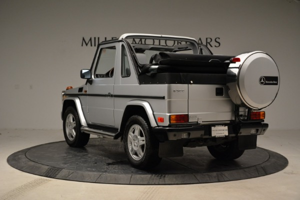 Used 1999 Mercedes Benz G500 Cabriolet for sale Sold at Pagani of Greenwich in Greenwich CT 06830 5
