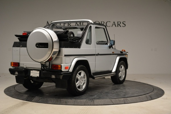 Used 1999 Mercedes Benz G500 Cabriolet for sale Sold at Pagani of Greenwich in Greenwich CT 06830 7