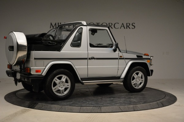 Used 1999 Mercedes Benz G500 Cabriolet for sale Sold at Pagani of Greenwich in Greenwich CT 06830 8