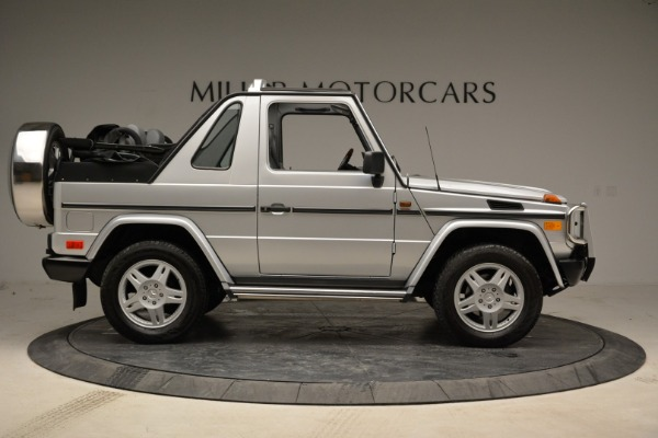 Used 1999 Mercedes Benz G500 Cabriolet for sale Sold at Pagani of Greenwich in Greenwich CT 06830 9