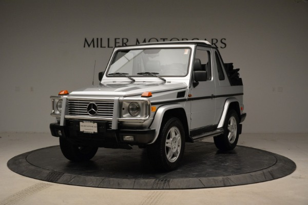 Used 1999 Mercedes Benz G500 Cabriolet for sale Sold at Pagani of Greenwich in Greenwich CT 06830 1