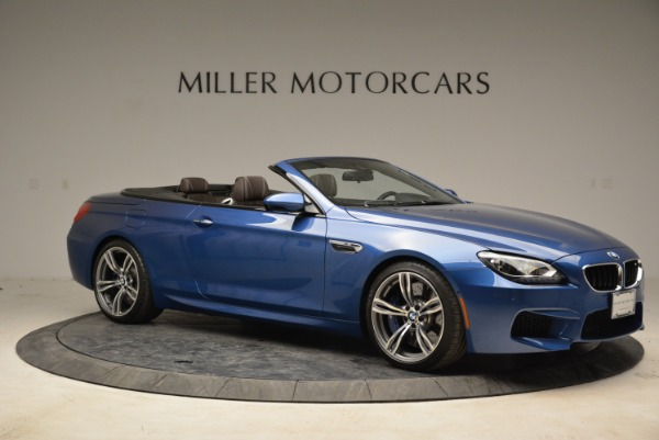 Used 2013 BMW M6 Convertible for sale Sold at Pagani of Greenwich in Greenwich CT 06830 10