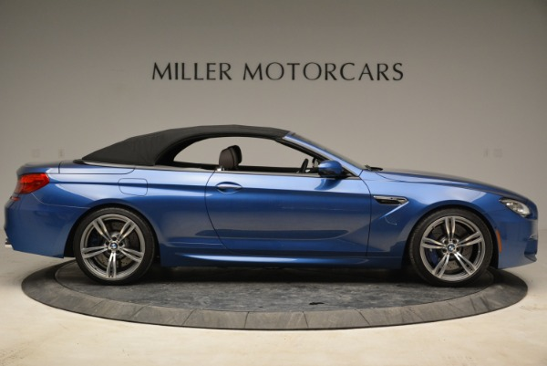 Used 2013 BMW M6 Convertible for sale Sold at Pagani of Greenwich in Greenwich CT 06830 21