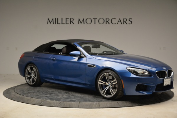 Used 2013 BMW M6 Convertible for sale Sold at Pagani of Greenwich in Greenwich CT 06830 22