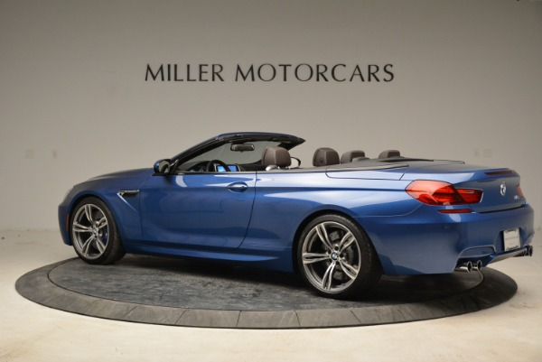 Used 2013 BMW M6 Convertible for sale Sold at Pagani of Greenwich in Greenwich CT 06830 4