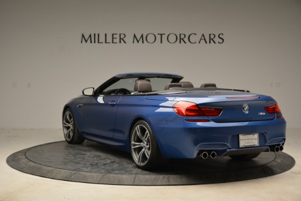 Used 2013 BMW M6 Convertible for sale Sold at Pagani of Greenwich in Greenwich CT 06830 5
