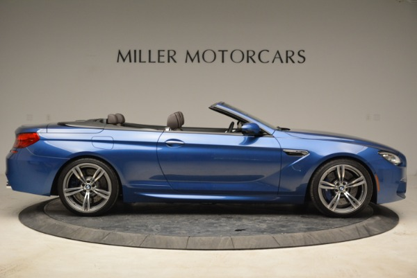 Used 2013 BMW M6 Convertible for sale Sold at Pagani of Greenwich in Greenwich CT 06830 9