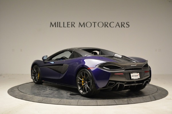 New 2018 McLaren 570S Spider for sale Sold at Pagani of Greenwich in Greenwich CT 06830 16