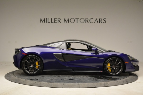 New 2018 McLaren 570S Spider for sale Sold at Pagani of Greenwich in Greenwich CT 06830 19