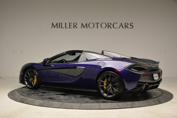 New 2018 McLaren 570S Spider for sale Sold at Pagani of Greenwich in Greenwich CT 06830 4
